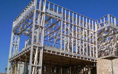 Construção em Stell Frame