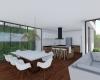 arquitetura itupeva vista da cozinha integrada a sala de jantar