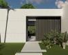 entrada casa terrea minimalista em Itupeva