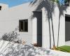 vista dos fundos varanda casa contemporanea concreto aparente