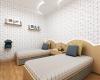 vista do quarto de crianças apartamento giverny