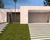 fachada casa terrea concreto aparente