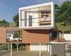 fachada casa moderna condominio capital ville Jundiai