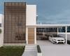 fachada casa com arquitetura contemporanea em jundiai