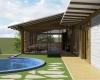 vista piscina estrutura eucalipto autoclavado