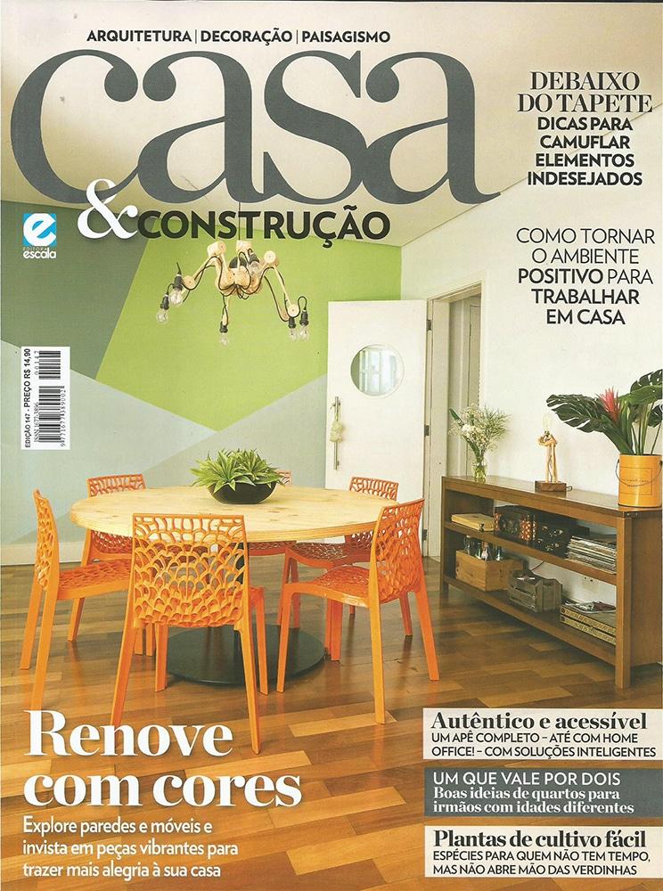 revista casa e construção 2018