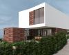 fachada casa contemporanea casa com dois pavimentos condominio brisas da mata em jundiai