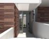 entrada casa contemporanea em jundiai condominio brisas da mata