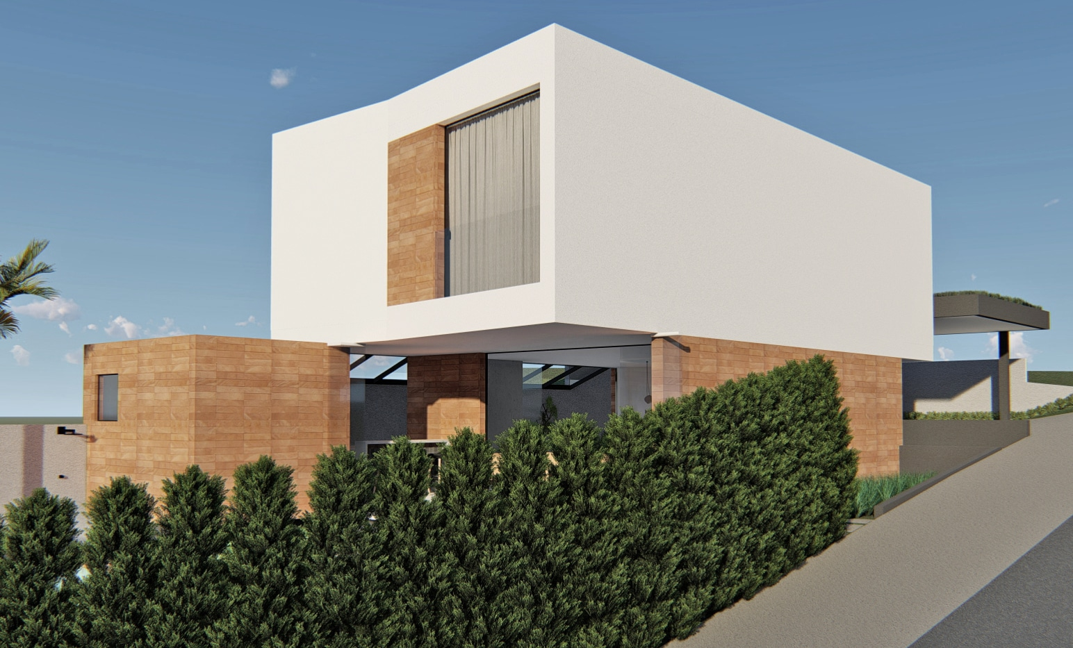 Arquitetura residencial Brisas da Mata Jundiaí