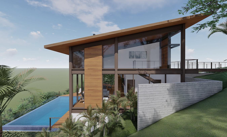 Arquitetura residencial estrutura metálica Capital Ville