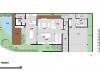 planta baixa pavimento térreo casa de esquina em terreno com declive Condomínio Brisas da Mata em Jundiaí